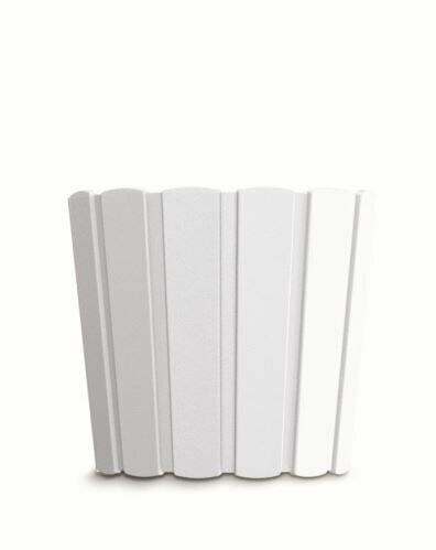Blumentopf BOARDEE BASIC weiß 28,5cm