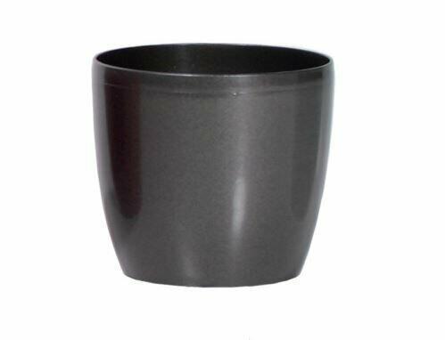 Blumentopf COUBI rund graphit 35cm