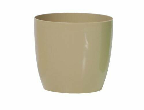Blumentopf COUBI runder Kaffee mit Milch 9cm