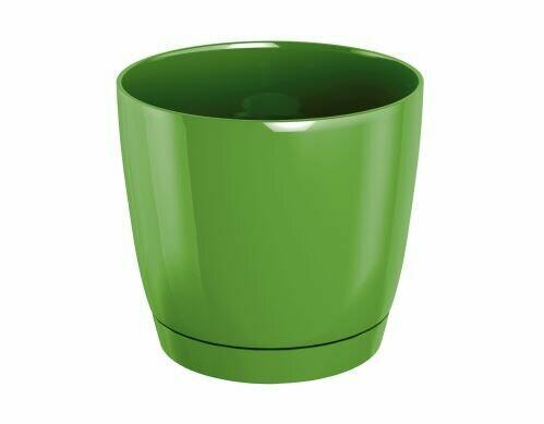 COUBI ROUND P Blumentopf mit Olivenschale 15,5 cm
