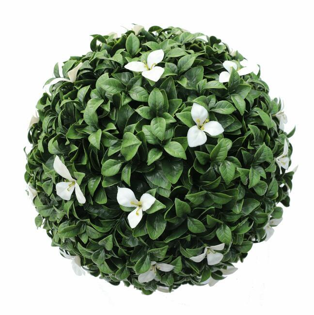 Gradenia Kunstball weiß 45 cm