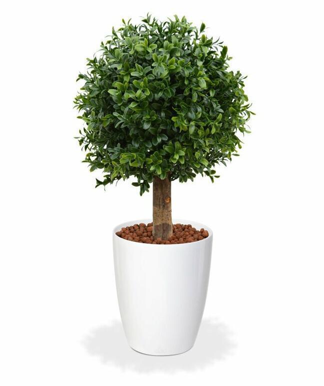 Kunstbaum Buxus rund 25 cm