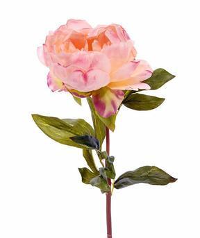 Kunstblume Pfingstrose rosa 55 cm