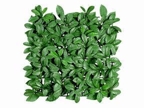 Künstliche Blatttafel Lorbeer - 50x50 cm