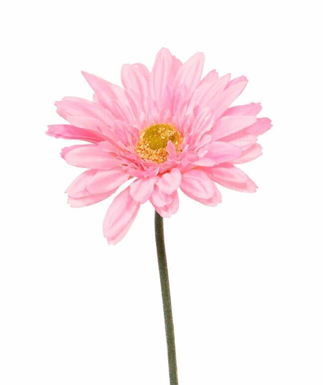 Künstliche Gerbera-Blume rosa 60 cm
