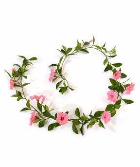 Künstliche Girlande Petunie rosa 180 cm