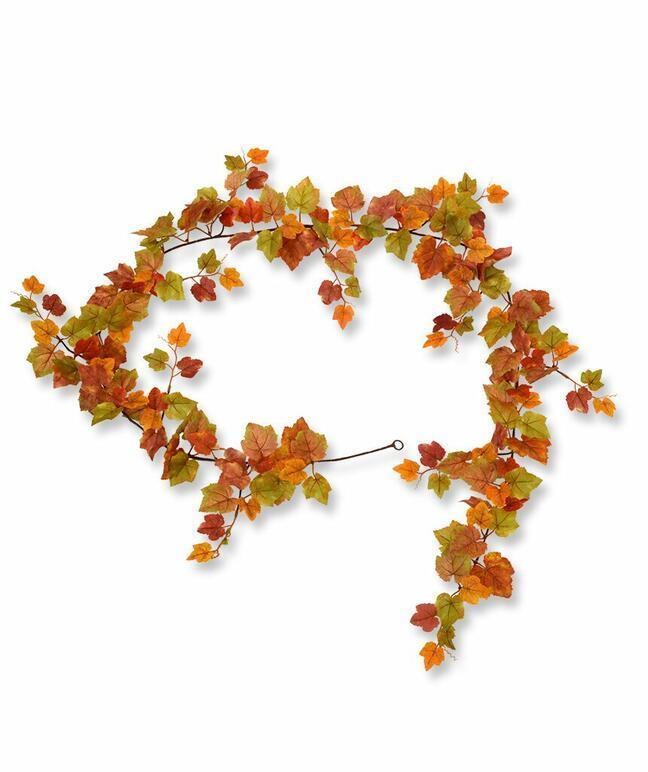 Künstliche Girlande Traube Herbst 180 cm