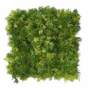 Künstliche hellgrüne Moosplatte - 25x25 cm