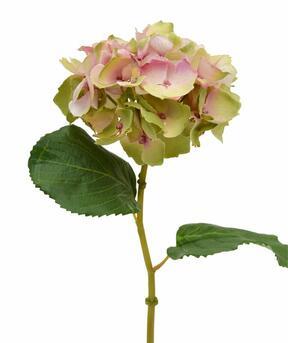 Künstliche Hortensienblüte rosa 45 cm