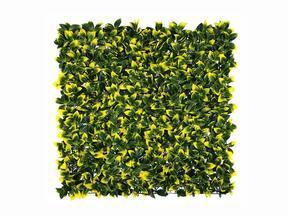 Künstliche Laubholzplatte Holly - 50x50 cm