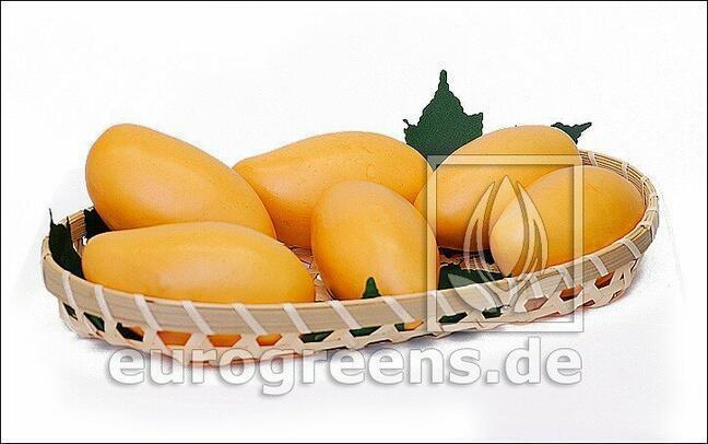 Künstliche Mango gelb