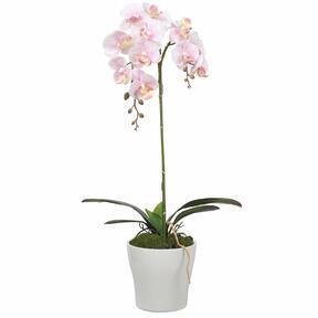 Künstliche Orchidee rosa 53 cm