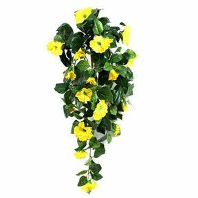 Künstliche Ranke Petunie gelb 80 cm