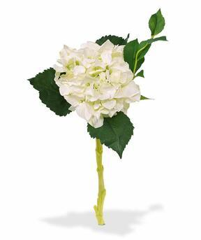 Künstlicher Ast Hortensie weiß 38 cm