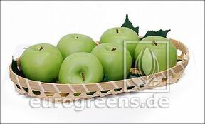 Künstlicher grüner Apfel