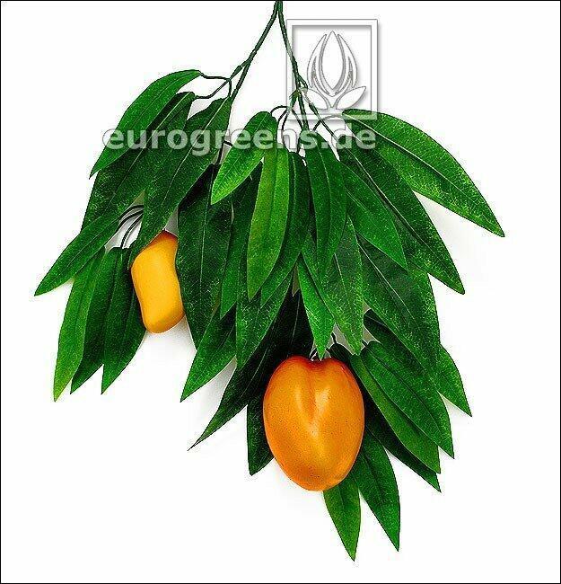Künstlicher Mangozweig mit Früchten