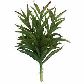 Künstlicher Zweig Dianthus grün 17,5 cm