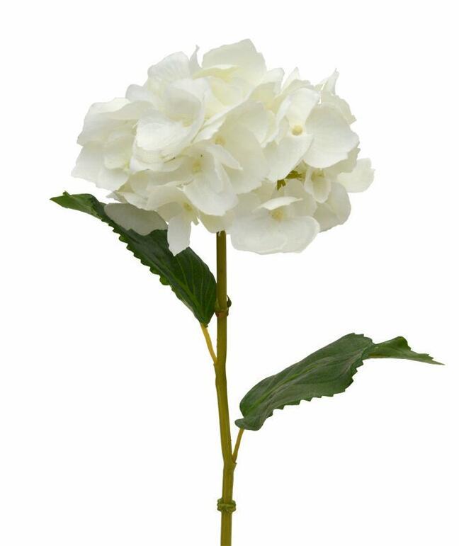 Künstlicher Zweig Hortensiencreme 45 cm