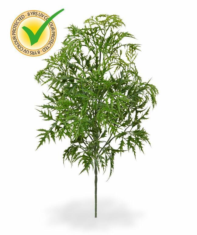 Künstlicher Zweig Polyscias fruticosa 50 cm