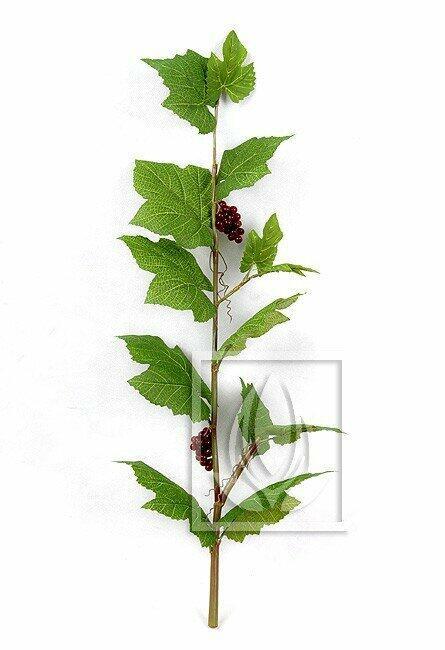 Künstlicher Zweig Weinrebe 80 cm