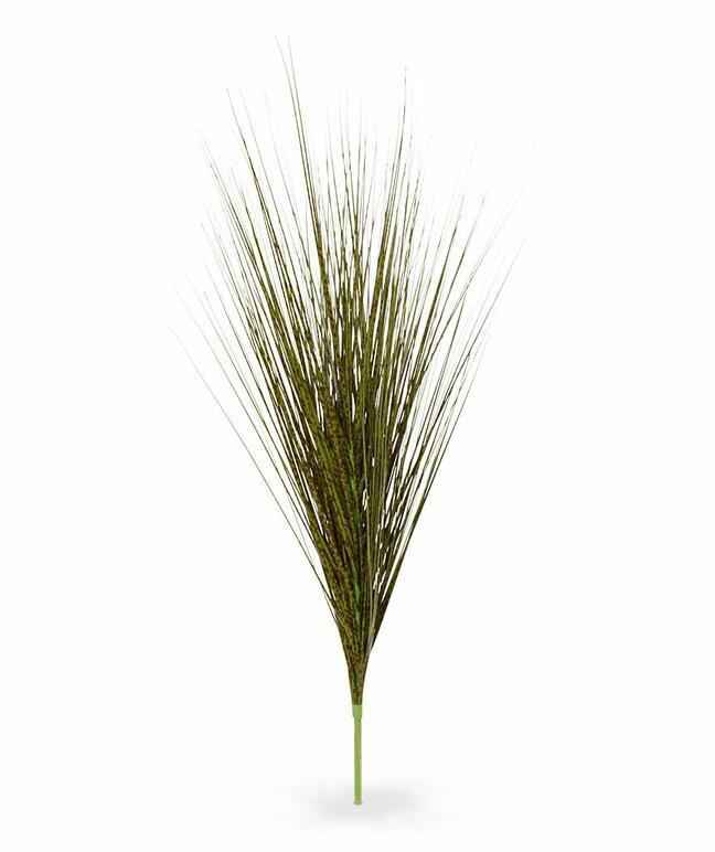 Künstliches grün-braunes Bündel aus Gras Chinesisches Ornament 85 cm