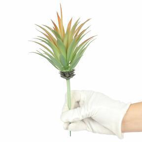 Kunstpflanze Agave orange 18 cm