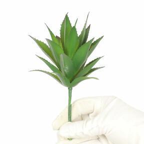 Kunstpflanze Ananasblätter 20 cm