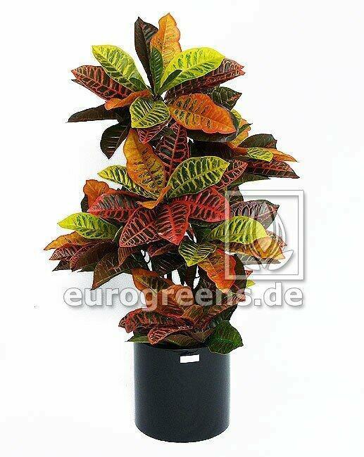 Kunstpflanze Crotone 90 cm
