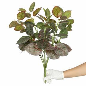Kunstpflanze Fitonia rot 45 cm