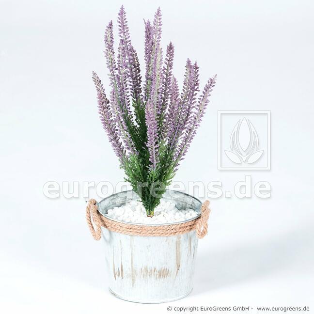 Kunstpflanze Heide lila 38 cm
