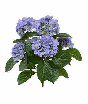 Kunstpflanze Hortensie blau 40 cm