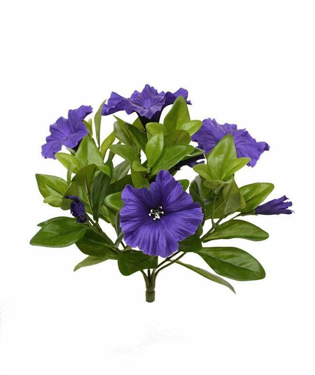 Kunstpflanze Petunie lila 25 cm