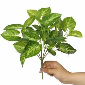Kunstpflanze Taro Araceae 25 cm