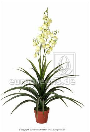 Kunstpflanze Yucca schön 125 cm beautiful