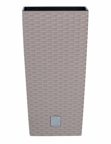RATO SQUARE Blumentopf + Mocca-Einlage 40,0 cm
